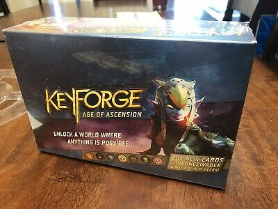 KeyForge Age of Ascension Archon Deck Display - 12 Decks - New Factory Sealed