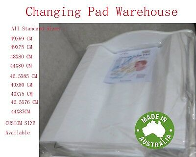 Baby Change Changing Pad Mat Mattress Matt Australia Made Full Range Custom Size