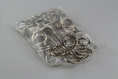 O Ring 100 x welded steel 32mm x 5mm horse rugs dog collars leads