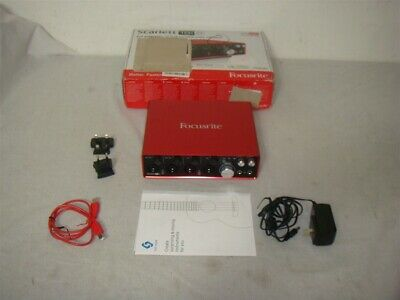 FOCUSRITE SCARLET 18i8 2ND GENERATION USB AUDIO INTERFACE