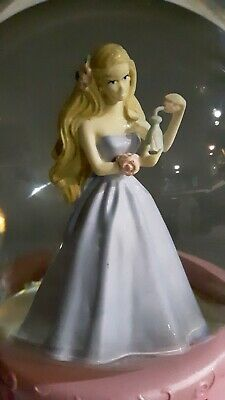 "Rare ""Barbie"" Musical Snow Globe Collectible"