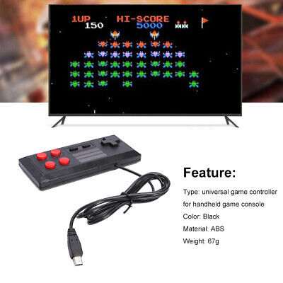 For Handheld Game Console Player Game Controller Classic Micro USB Wired Gamepad