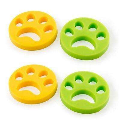 4 Pcs Pet Hair Remover Reusable Washing Lint for Fur and Lint Dog Cat All Pets