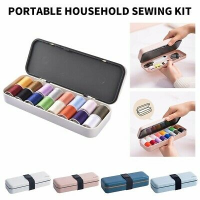 1 Set of Sewing Multifunctional Portable Sewing Threads Kit for Home Travel AU