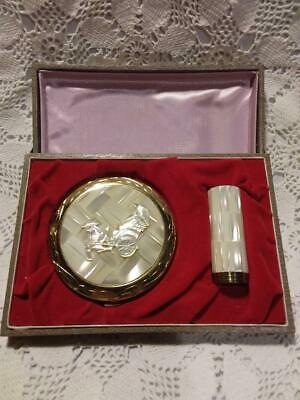 Vintage Boxed Compact & Lipstick