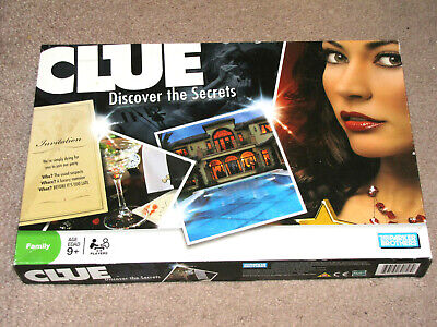 CLUE: DISCOVER THE SECRETS Boardgame 2008 - Checked Complete by PARKER BROTHERS