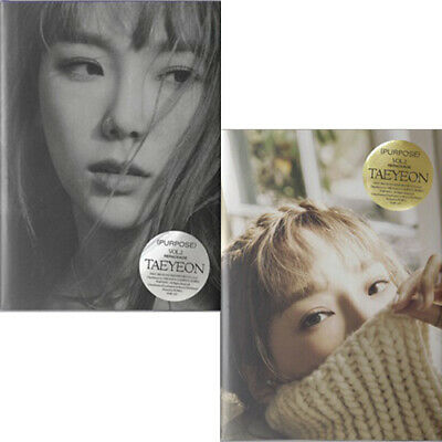 TAEYEON PURPOSE 2nd Repackage Album CD+POSTER+Photo Book+Post Card Set+Card+GIFT