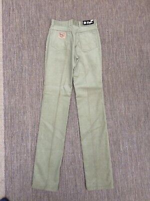 """Kids Lee Cooper Corduroy Trousers New With Tags Straight Leg Waist 27"""" Jeans"""