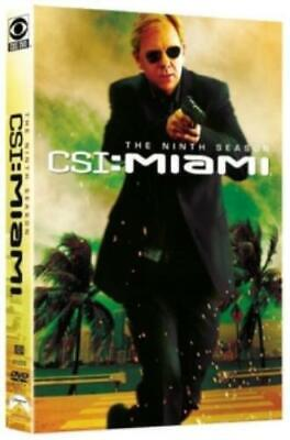 CSI: MIAMI - NINTH SEASON (Region 1 DVD,US Import,sealed.)