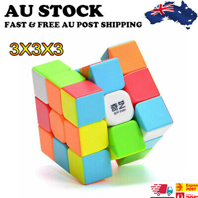 Magic Cube 3x3x3 Super Smooth Fast Speed Puzzle Rubix Rubics Toy for Kids Adult