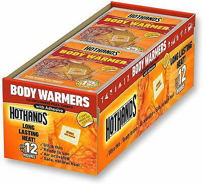 Hothands Body Warmers With Adhesive - Long Lasting Safe Natural Odorless Air Act