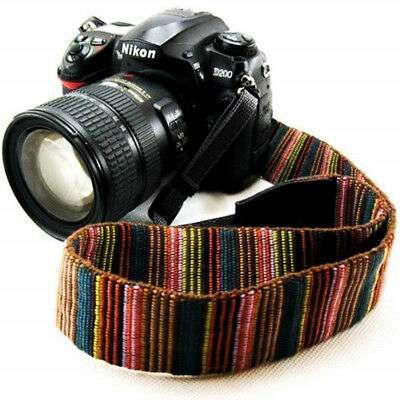 Vintage Camera Shoulder Neck Sling Strap Belt for Canon Sony Nikon SLR DSLR AL K
