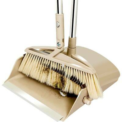 Detachable Handle Dustpan Sweep Hair No Sticking Broom with Brush Clean Tool Set