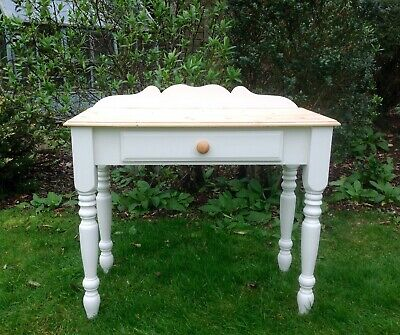 Beautiful Vintage Solid Pine Hall Table Painted Annie Sloan Shabby Chic