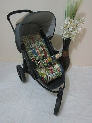 Pram liner set,universal,100% cotton fabric-Surfboards-Funky babyz,SALE*