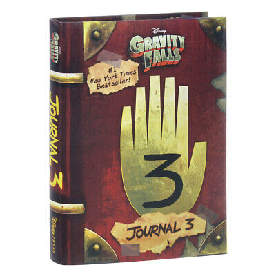 Disnay Gravity Falls: Journal 3 by Alex Hirsch Hardcover Book English