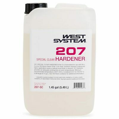 West System 207 SC Special Clear Hardener Part 2 1.45 Gallon Boat Marine