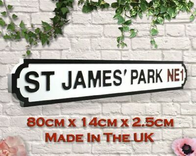 VINTAGE SHOREDITCH HAND PAINTED WOODEN STREET SIGN