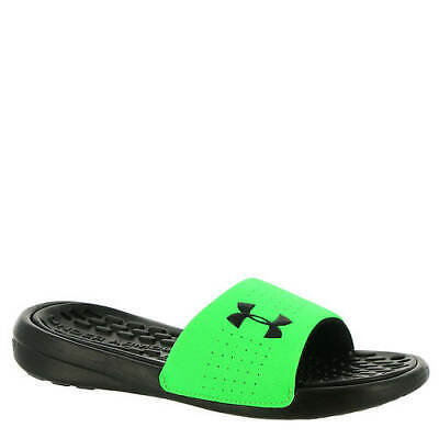 Under Armour Kids' Debut Fixed Strap Slides Size 6 Youth