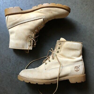 VTG MENS TIMBERLAND Work Suede Brown Boots Size 9.5 M