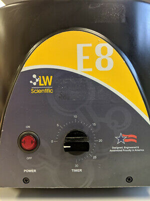 L👀K LW Scientific E8 Centrifuge without Power Supply