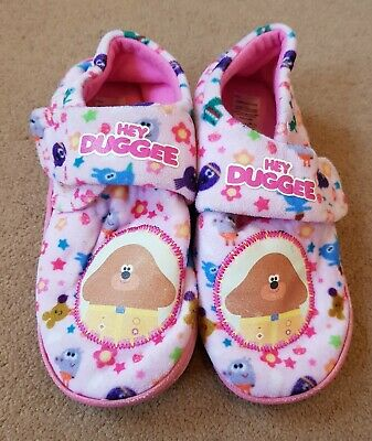 Girls Hey Duggee Slippers Size 12-13