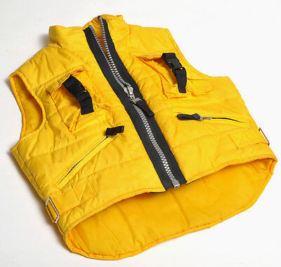 Vest Conbipel Baby 3 Ages with Zipper and Pockets Yellow