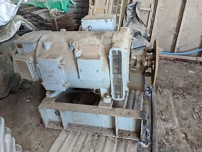 Magnicon Generator 415/240 Volts 130 Amps 75-93 Kva On Chassis