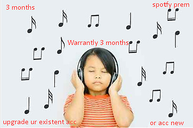 Premium Spotify 3 Months LIMITED # Warrantly #