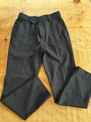 Boys Navy Next Suit Trousers Prom Wedding Age 10