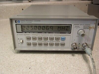 HP 5384A 10Hz - 225 MHz Counter - Tested, In CAL! - #1