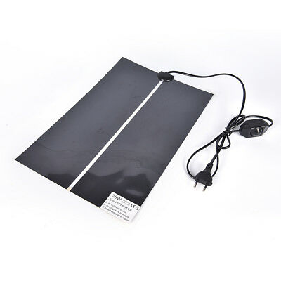Heat Mat Reptile Brooder Incubator Heating Pad Warm Heater Pet Supply 5W-45W _R