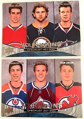 2011-2012 Upper Deck Series One and Two Hockey - YOUNG GUNS - 2$ each - YOU PICK
