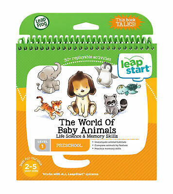 Leapfrog Leapstart Level 1, The World Of Baby Animals With Life Science & Me