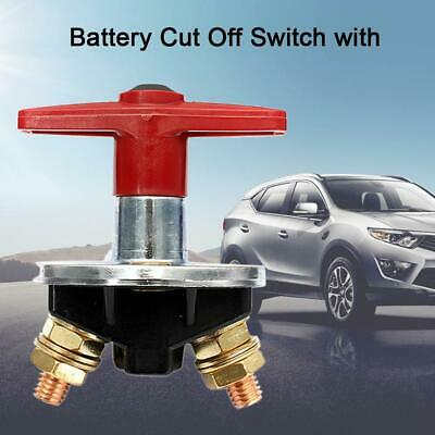 Car Main Battery Disconnect Iron Switch Power Cut off 24V 12V 100x90x65mm