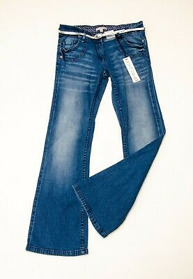 BNWT girls 'MARKS AND SPENCER' BOOTCUT Jeans Age 12