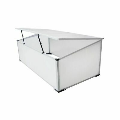 Cold Frame Greenhouse Polycarbonate Growhouse Garden Hothouse 110x41x55 cm F7U1
