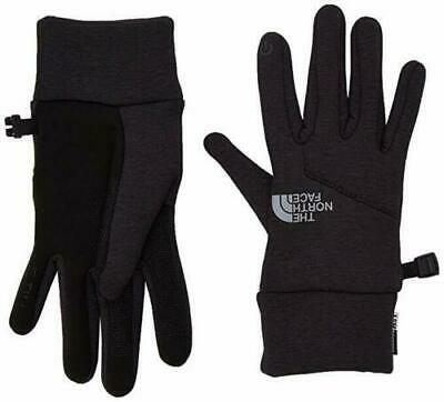 The North Face Womens Etip Hardface Glove TNF Black Heather Size Small