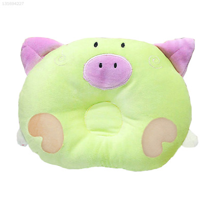 513B Green Pillow Bedding Cushion Head Support Anti Roll Baby Sleepping