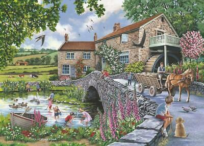 The House Of Puzzles - 1000 PIECE JIGSAW PUZZLE - Old Mill