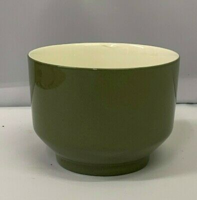 UNUSED Wedgwood Moss Green Footed Open Sugar Bowl