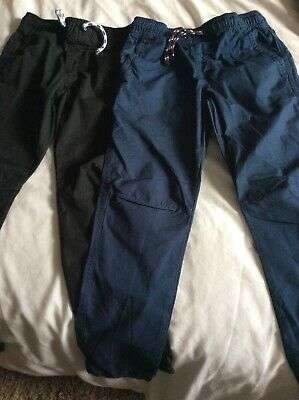 Boys Trousers Age 6-7 M&S Boys Black Trousers Boys Blue Trousers 6-7 Years