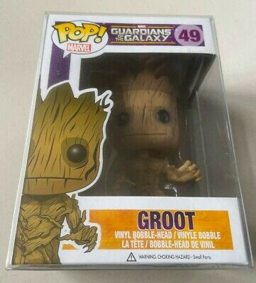 Funko Pop Retired Vaulted Marvel Guardians of the Galaxy GROOT #49 Avengers