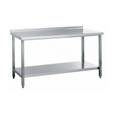 Table Work Steel with Tier - Width 140 CM