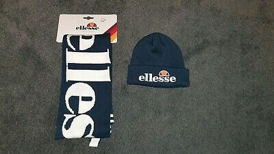 Ellesse Scarf and Beanie Set Heritage