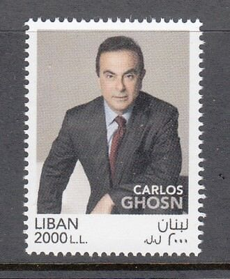 Lebanon - Liban Mnh Sc# 778 Carlos Ghosn - 74 Sold !
