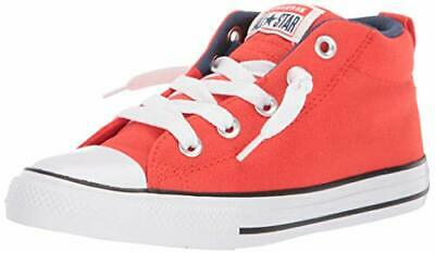 Converse Kids' Chuck Taylor All Star Street, Habanero Red/Navy/White, Size 13.0