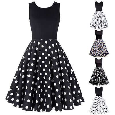 Fashion Kids Girls Floral Printed Sleeveless Flare A-line Skater Party Dress Hot