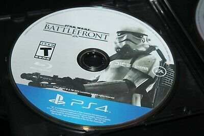 Star Wars Battlefront PS4 (Sony PlayStation 4, 2015) DISC ONLY