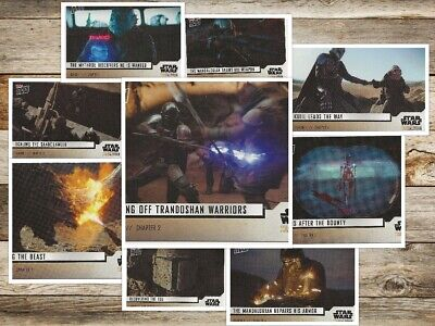 🚀 🛸  Star Wars: The Mandalorian TOPPS NOW S1:Chapter 1 & S1 Chapter 2 🚀 🛸